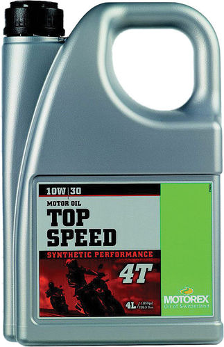 Motorex Top Speed 4T 10W30 4liter