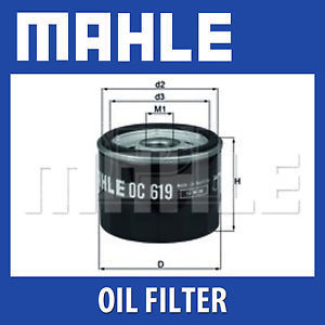 Mahle oliefilter OC619 (R1200GS LC)