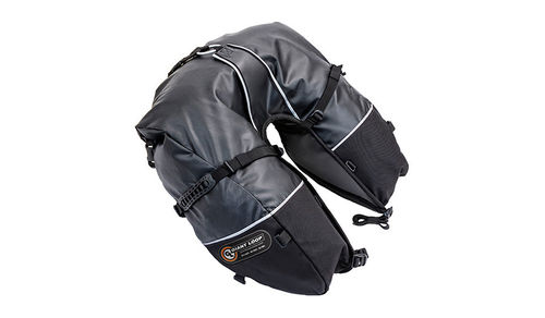 GIANT LOOP COYOTE SADDLEBAG RT (zwart)