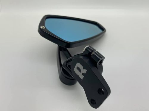 PRE-ORDER: Rottweiler Performance Mirror Mounts (WITH RALLY-MOTOR ARROW MIRRORS )