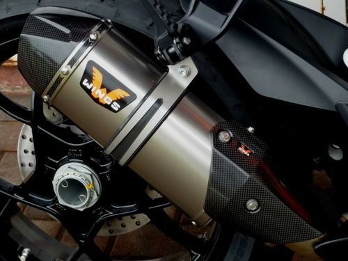 WINGS demper KTM 1290 Superduke zilver