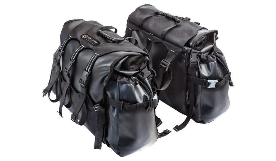 GIANT LOOP ROUND THE WORLD PANNIERS BLACK