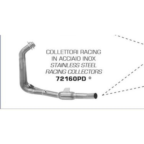 ARROW 72160PD Yamaha Tenere 700 T7 header stainless steel